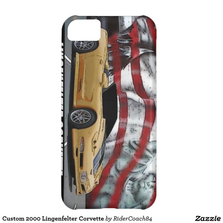 Custom 2000 Lingenfelter Corvette iPhone 5C Cases