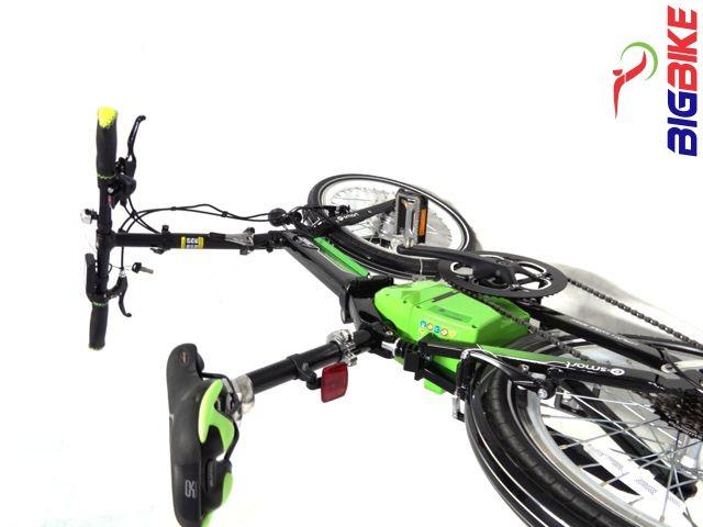 Bicicleta elétrica dobrável e-Smart  www.bigbike1.com.br