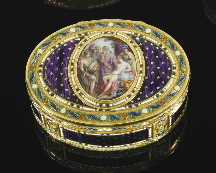 a gold and enamel snuff box, anto | snuff box | sotheby's l16301lot85kfyen