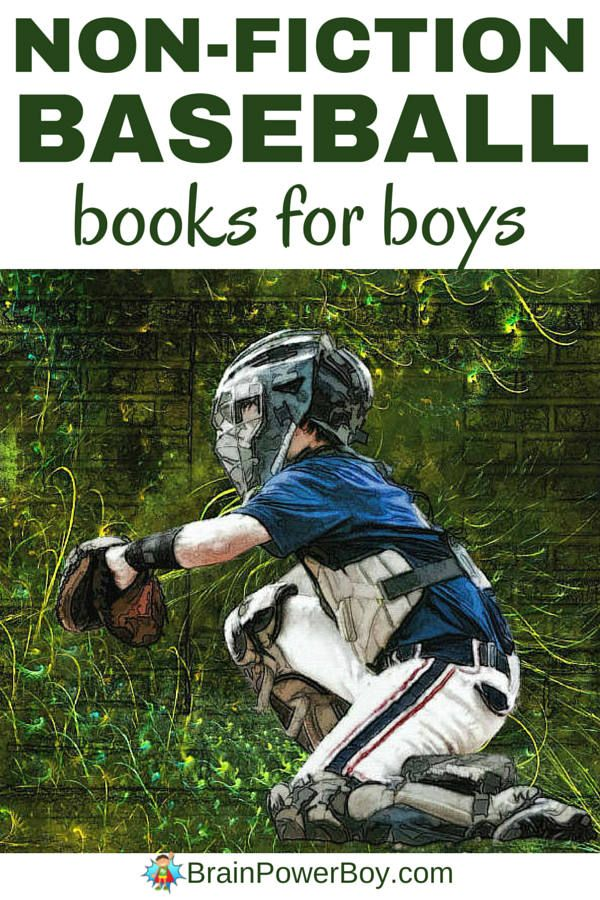 Want to get your baseball fan reading? Give him the best non-fiction baseball books around. Selections for all ages. Click image to see list.