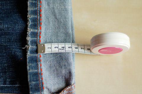 Jeans inkorten gezien @verbeelding