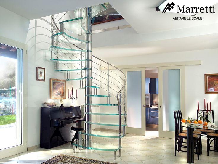 Escaleras de dise o escaleras para interior de la firma - Escaleras de vidrio ...