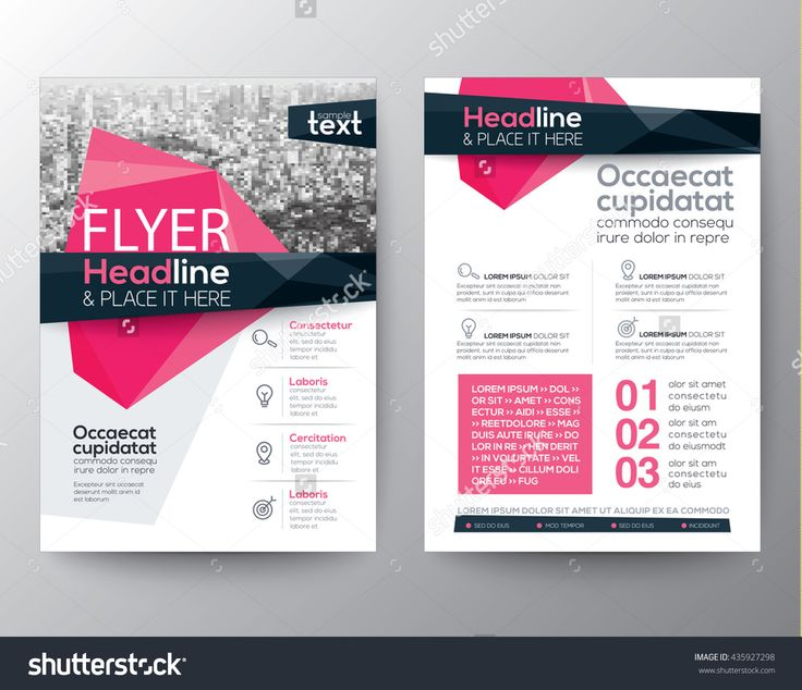 Abstract Low Polygon Background For Poster Brochure Flyer Design Layout Vector Template In A4 Size - 435927298 : Shutterstock