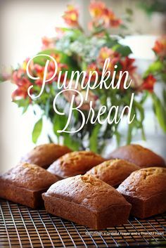 Pumpkin Bread mini loaves perfect for sharing