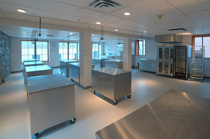 Maison Christian Faure Intl. Pastry School Practical Room