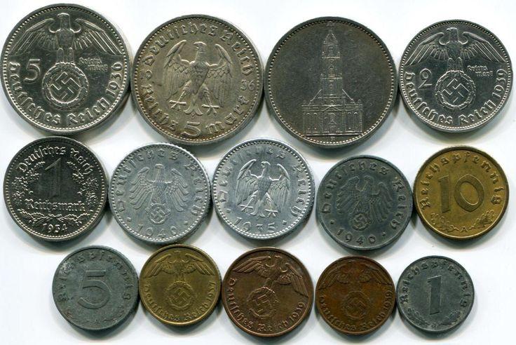 Nazi Germany | Nazi Germany 14 coin set