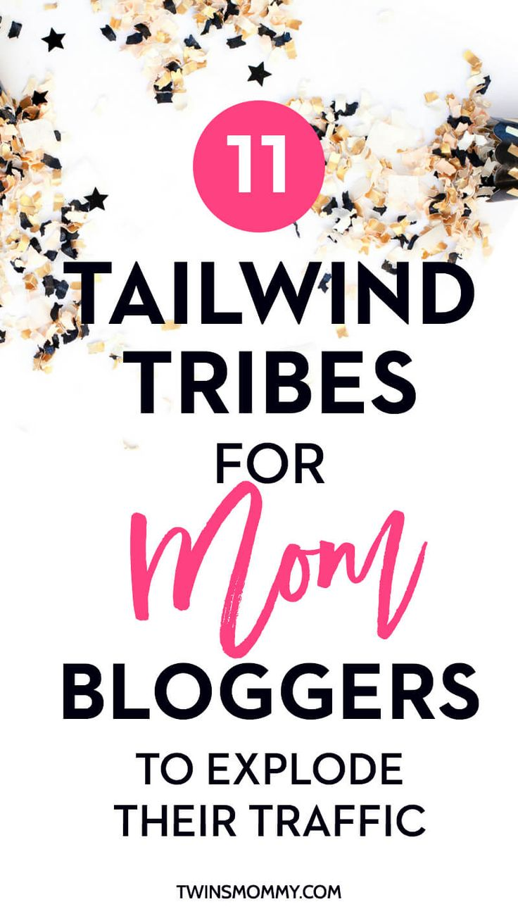 12 Days of Holiday Freebies: 11 Tailwind Tribes for Mom Bloggers to Explode Their Traffic