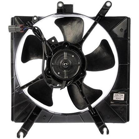 Dorman 620-734 Radiator Fan Assembly - Black