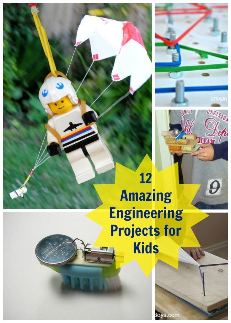 Planet Smarty Pants - 12 Amazing Engineering Projects for Kids