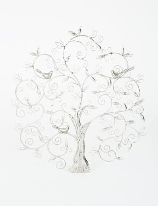 TREE OF LIFE decoration silver | Statues | null | Decoration | Interior | INDISKA Shop Online