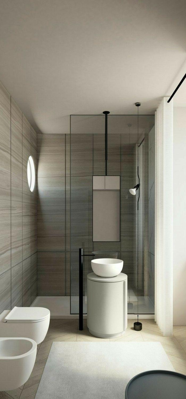 50+ Minimal Bathroom Decor Ideas - The Architects Diary