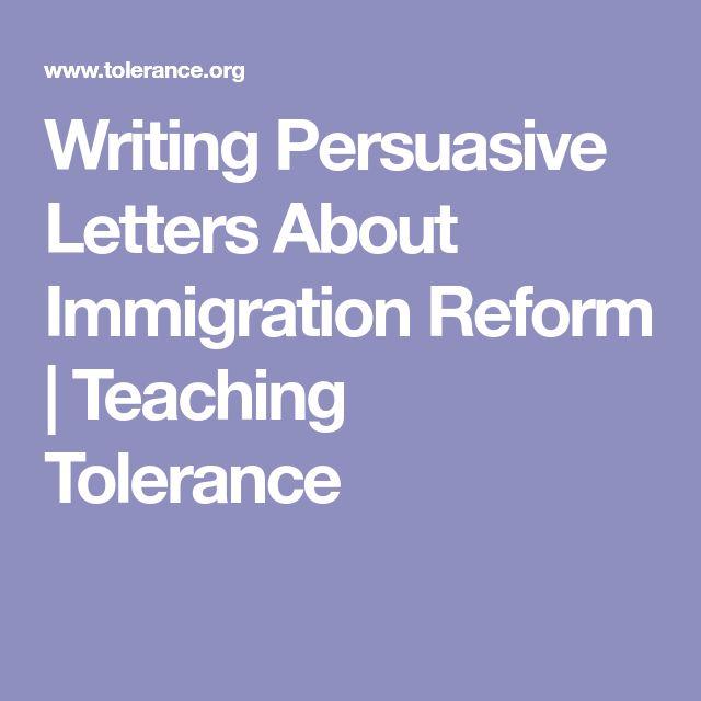 Immigration Reform Update: Best 25+ Persuasive Letter Ideas On Pinterest