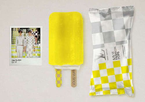 Louis Vuitton 2013 S/S collection ice candy
