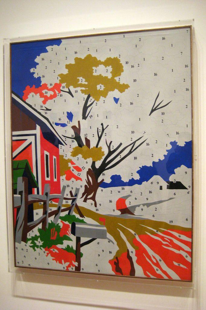 Warhol Paint By Numbers Painting Warhol Paintings