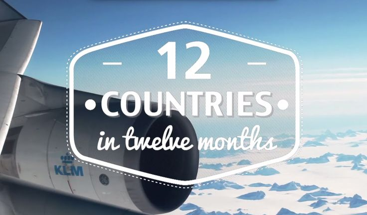 Twelve Countries in 12 Months