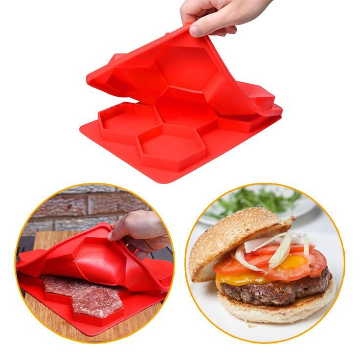 Burger Press Maker and Freezer Container