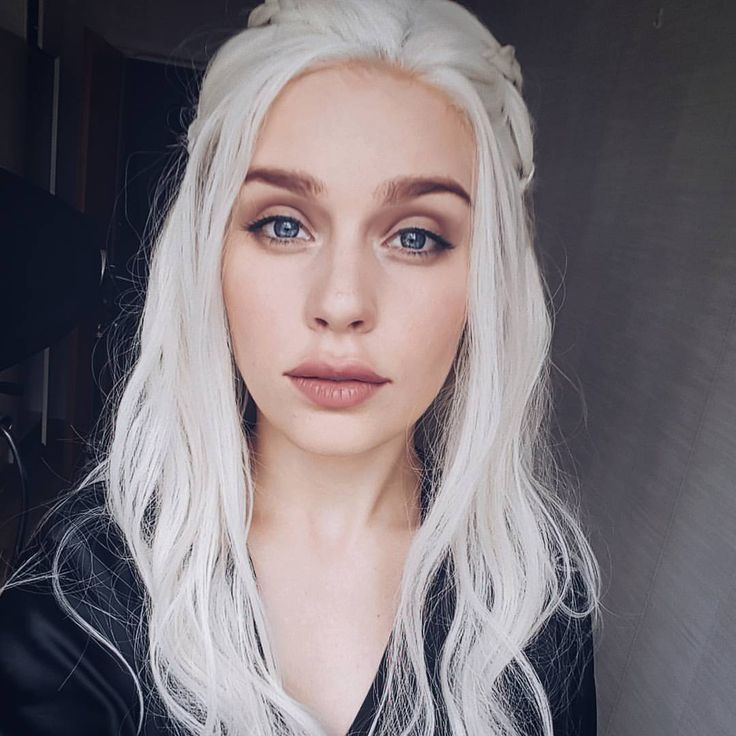 "15.1k Likes, 188 Comments - Miranda Hedman (@mirandahedman) on Instagram: ""Finally Game of Thrones has started!! 😍 Makeup transformation is in my bio 🐉 Wig: @uniwigs…"""