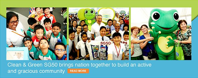 Newsflash: Clean & Green SG50 Brings Nation Together to Build an Active and Gracious Community