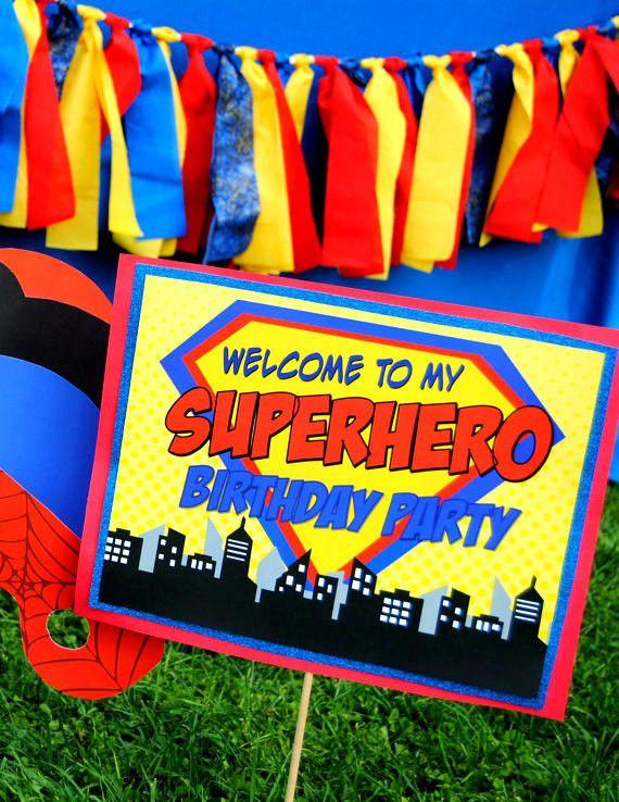 25 Best Ideas About Superhero Backdrop On Pinterest