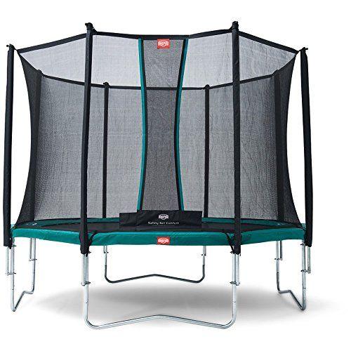 Günstig online entdecken: Bergtoys Trampolin Favorit 270 cm inkl. Comfort Netz - Regular von Berg bei Spielzeug.World!
