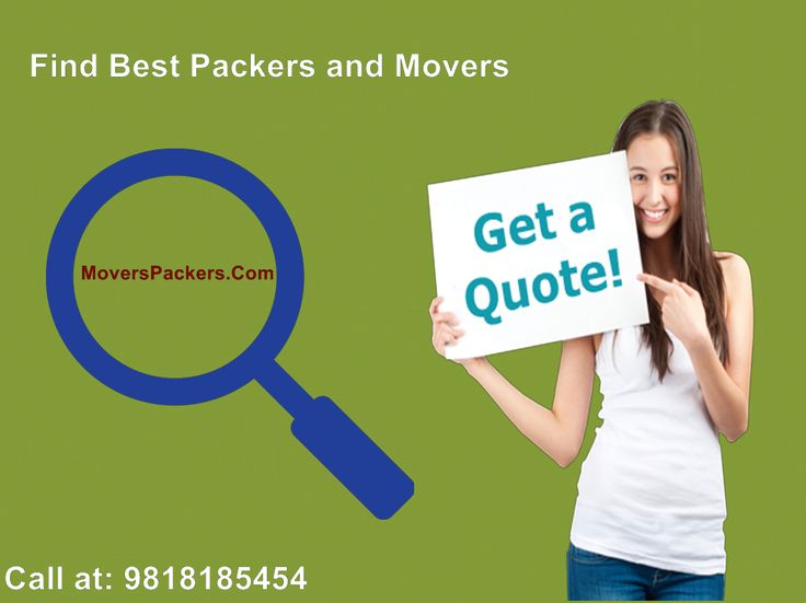 Find best and registered packers and movers service in your city..