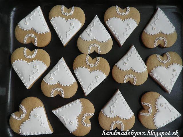 Handmade by Mirka&Zuzka: Svadobné medovníčky - NEVESTY   #wedding