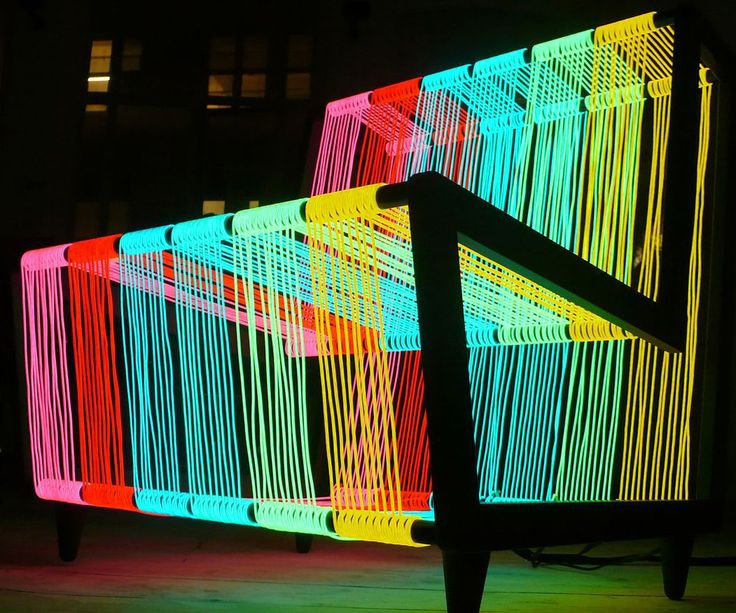 Electroluminescent Wire Chair                              …