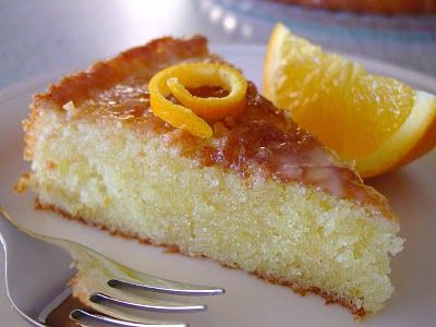 Orange Cake - The photo just makes me want to make this cake now!