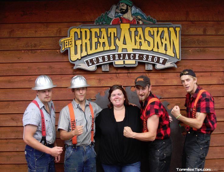 Great Alaskan Lumberjack Show in Ketchikan This will be us in very soon!!!!