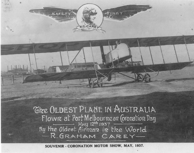 Wings over Fishermens Bend - the oldest airplane in Australia