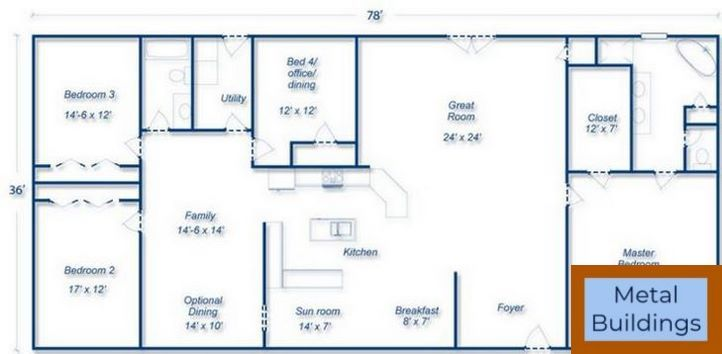 Future Steel Buildings Tv Commercial And Easy To Assemble And Barn Apartment Plans Metal House Plans Metal Building House Plans Steel Building Homes