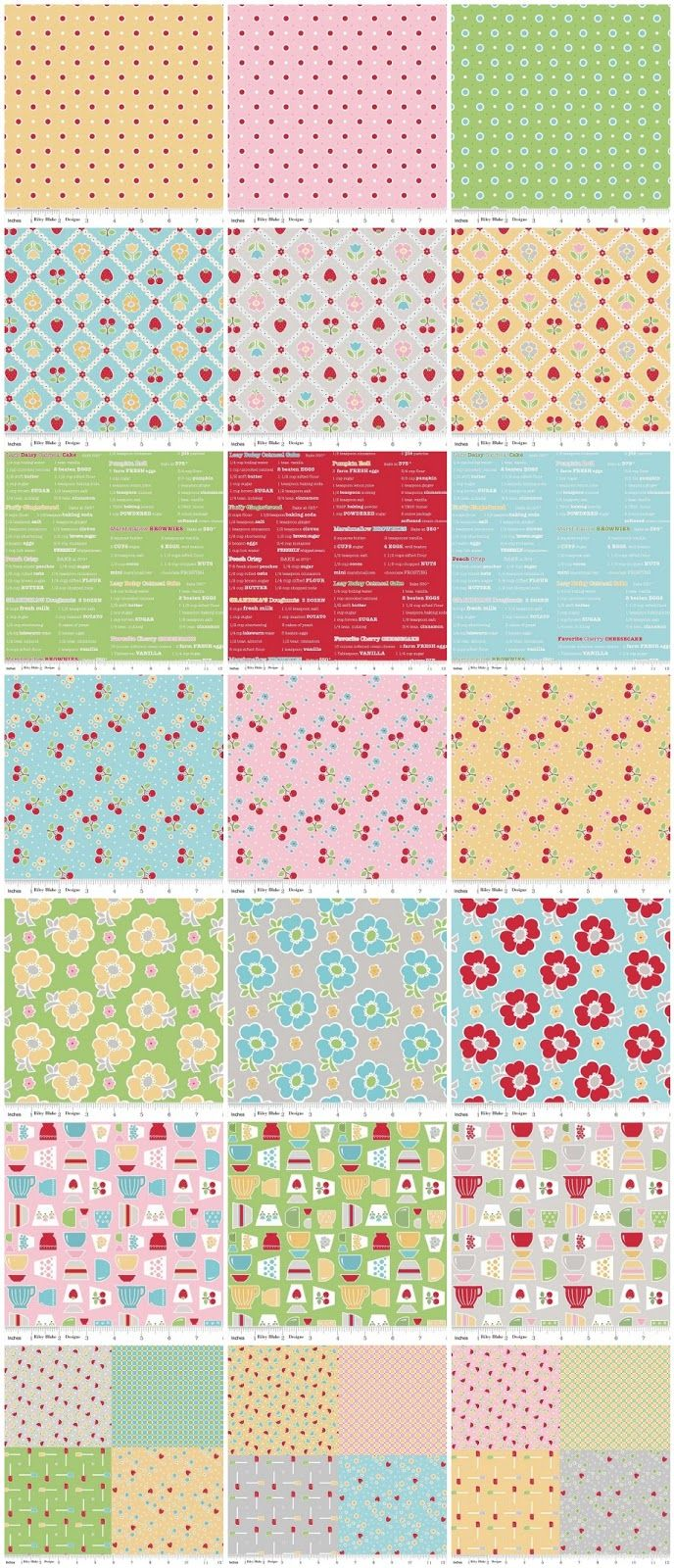39 best Bake Sale Fabric... images on Pinterest | Quilt block ... : must have quilting supplies - Adamdwight.com