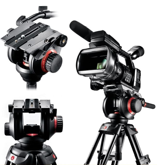 Testa 504HD - Mount, design by Giampaolo Allocco for Manfrotto (2010)