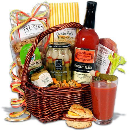 Bloody Mary Breakfast Gift Basket   October Fundraiser, will had a hand held mirror haha!