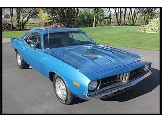 Merveilleux 1974 Plymouth Cuda