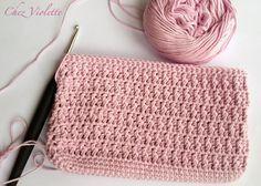 Tuto Etui de téléphone portable au crochet - Crochet Phone case DIY Pattern by Chez Violette - http://chicandrusticcrochet.blogspot.fr/