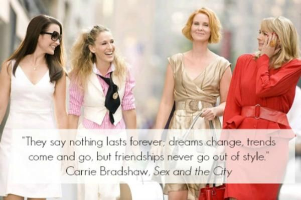 10 Friendship Quotes From 'Sex And The City'