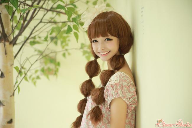 愛されぽこぽこヘアスタイル♡参考にしたいカット・アレンジ・髪型☆