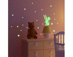 Naklejka świecąca w ciemności Fairie With Stars