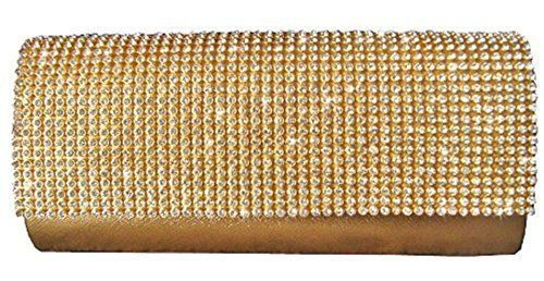 New Trending Backpacks: Girly HandBags Womens Diamante Sparkly Clutch Gold. Girly HandBags Women's Diamante Sparkly Clutch Gold  Special Offer: $25.00  455 Reviews Diamante beaded hard case clutch bag comes with detachable shoulder strap fully lined and a small interior pocket diamante on the front claspA VERY BEAUTIFUL PU leather EVENING CLUTCH BAGIT...