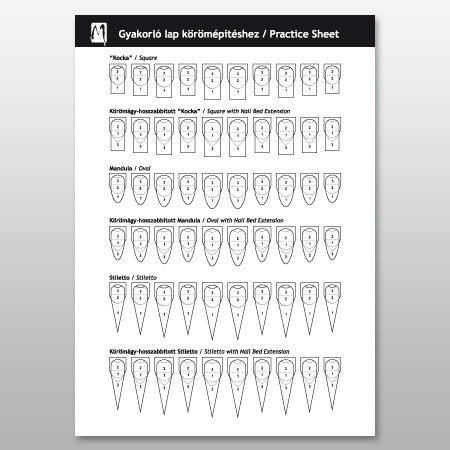 28 Best Images About Nails Practice Sheets On Pinterest