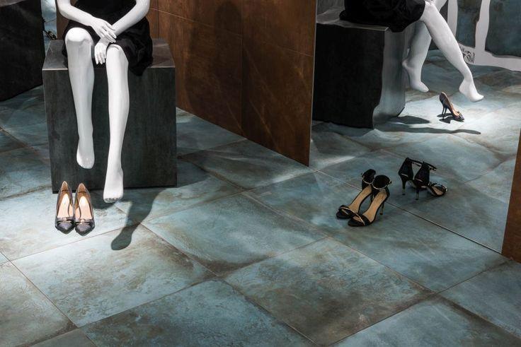 Image result for Caesar Ceramiche: Trace Corten Collection