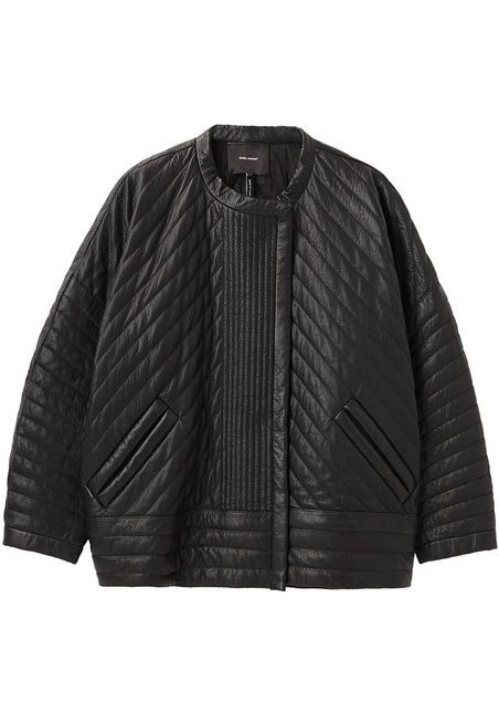 Isabel Marant Abelia Quilted Leather Jacket