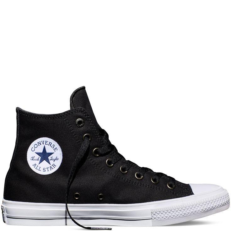 Chuck Taylor All Star II Negro black/white/navy