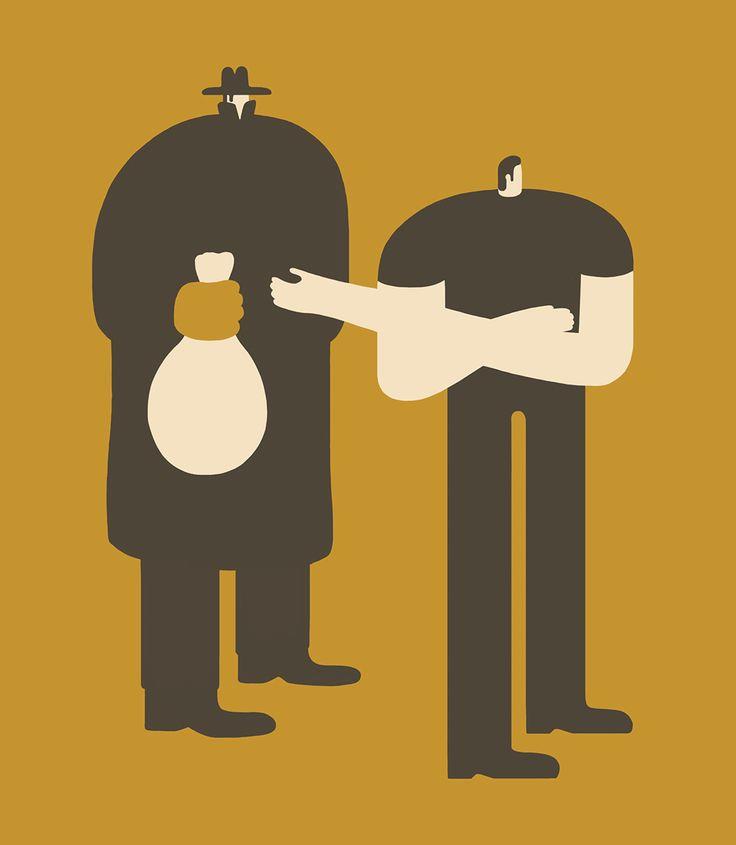 Magoz illustration - Corruption and Moral licensing