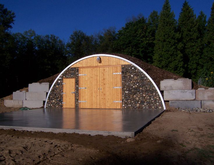 Metal Dome Garage : Best images about eco friendly buildings on pinterest