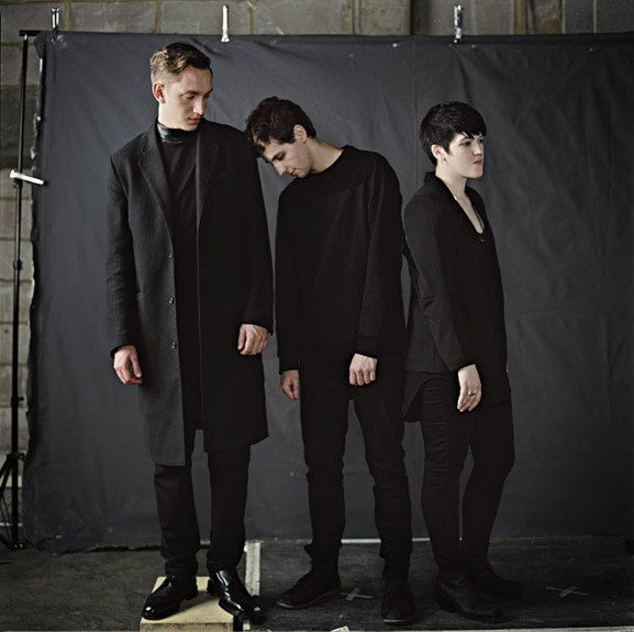 Oliver Sim, Jamie Smith, and Romy Madley Croft of The xx