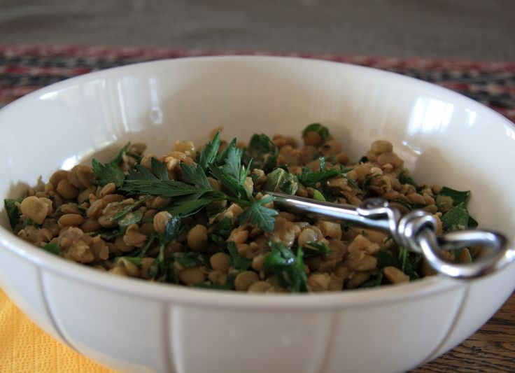 Lebanese Parsley Lentils