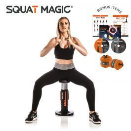 Master the king of exercises and give your bum a boost with Squat Magic! #Squatbum