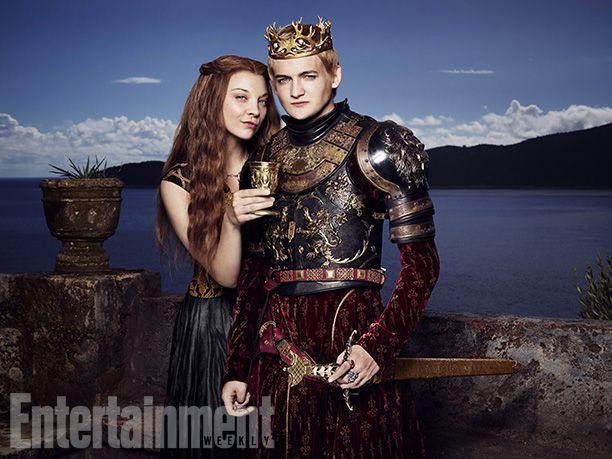 Game of Thrones: Season 4 Joffrey and Margaery Portraits Via @Entertainment Weekly